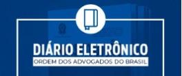 Diário Eletrônico OAB