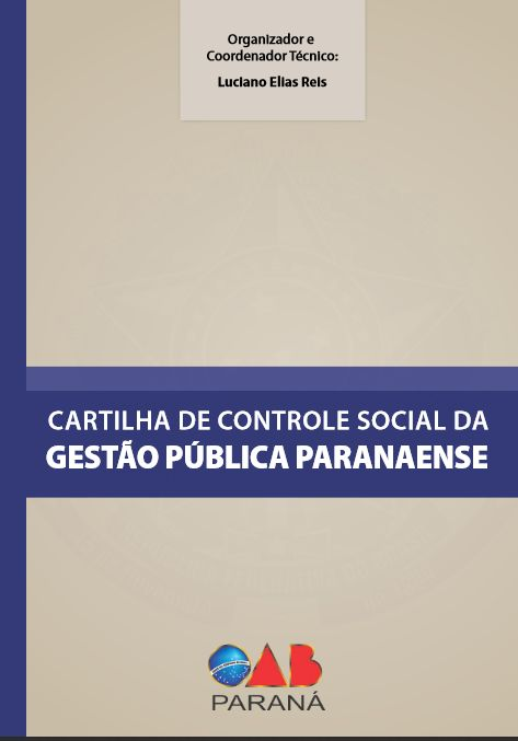 Cartilha de Controle Social da Gestão Pública Paranaense