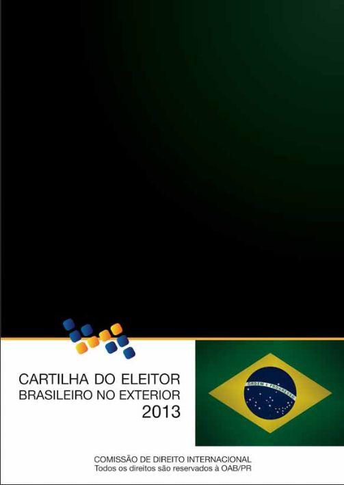 Cartilha do Eleitor Brasileiro no Exterior