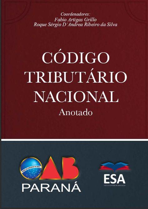 Código Tributário Nacional Anotado